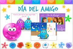 Tarjetas de  Día internacional del amigo