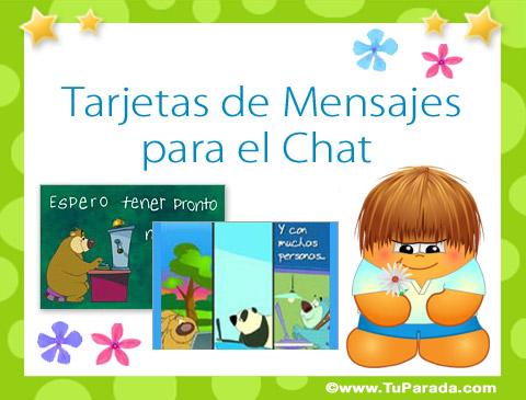 Tarjetas de Mensajes para el Chat