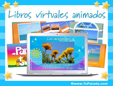 Tarjetas, postales: Libros virtuales