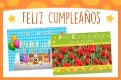 Tarjetas de Feliz Cumpleaños