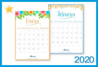 Tarjetas, postales: Calendario Deco 2020