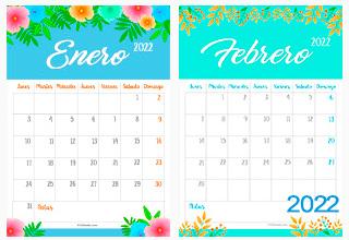 Calendario Deco 2021 - 2022