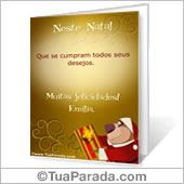 Cartões postais: Natal