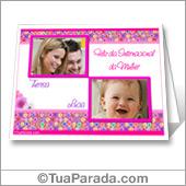 Cartões postais: Dia da mulher