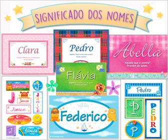 Cartões postais: Nomes