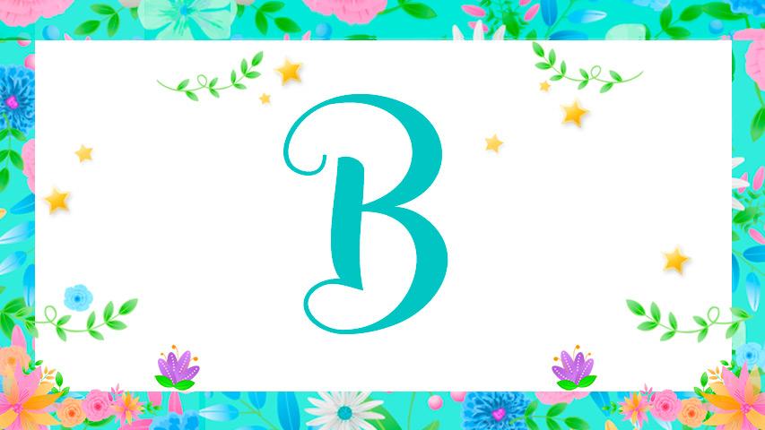 Nomes com B