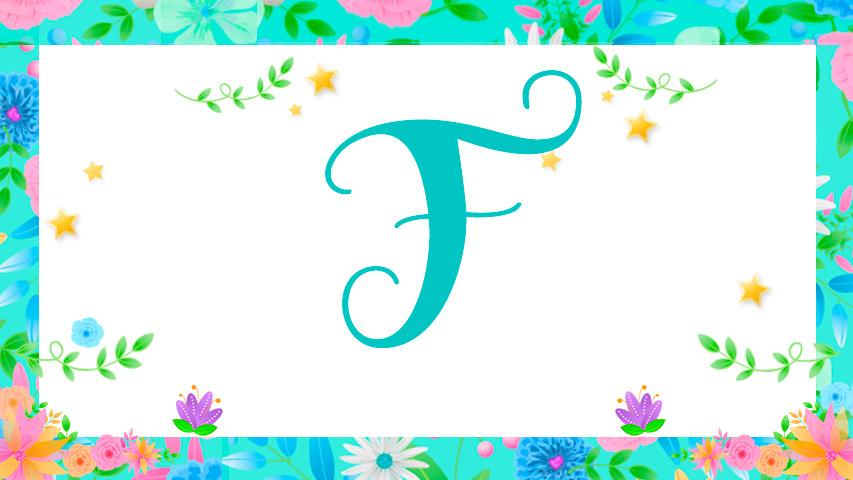 Nomes com F