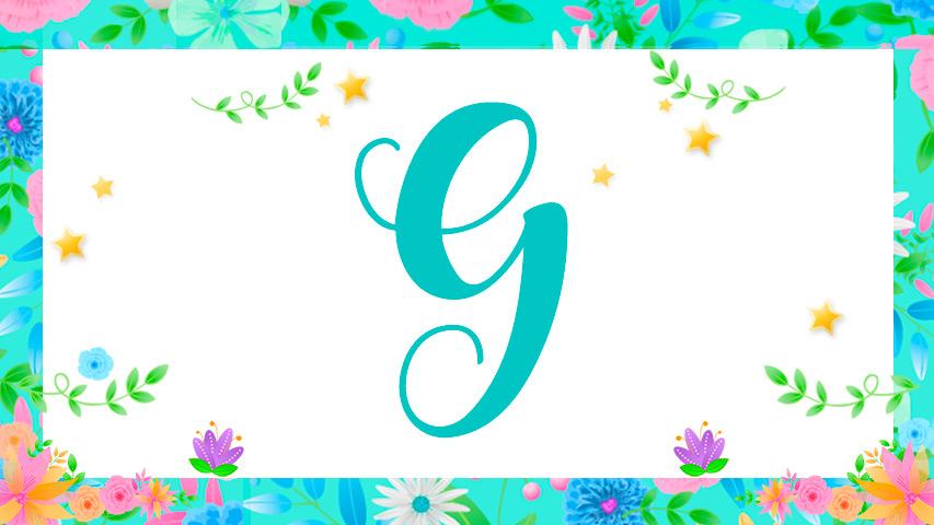 Nomes com G