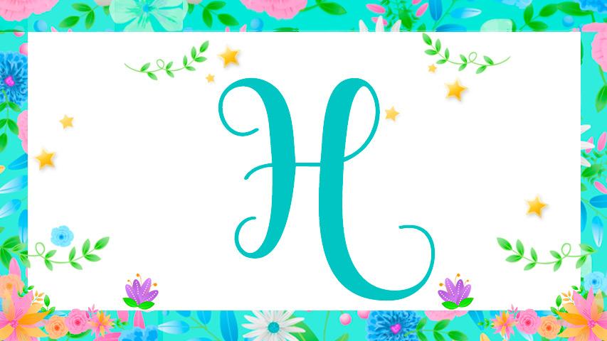 Nomes com H