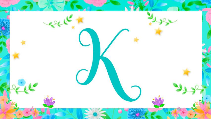 Nomes com K