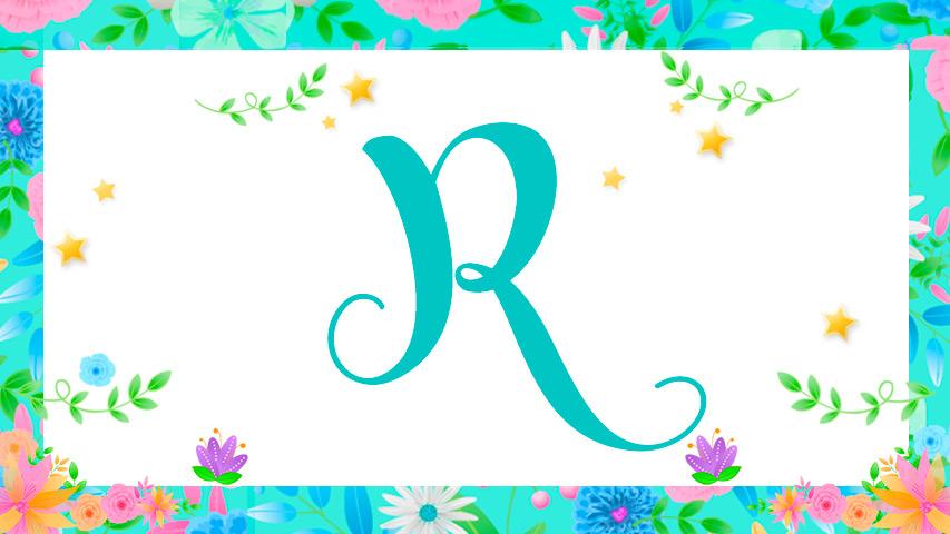 Nomes com R