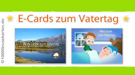 E-Cards zum Vatertag