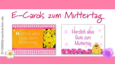 E-Cards zum Muttertag
