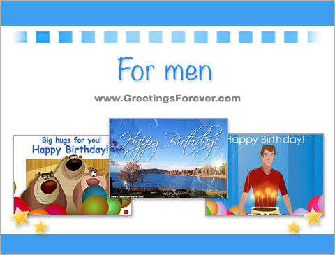 Birthday ecards for men Ecards