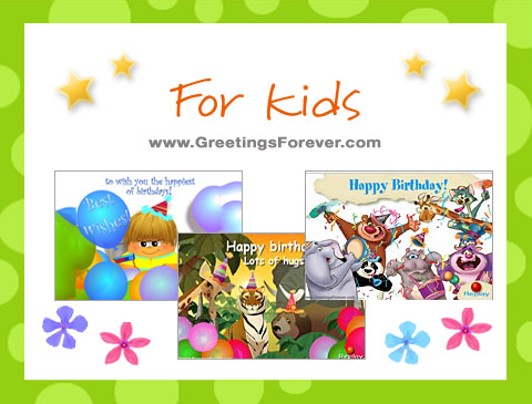 Birthday ecards for kids ecards