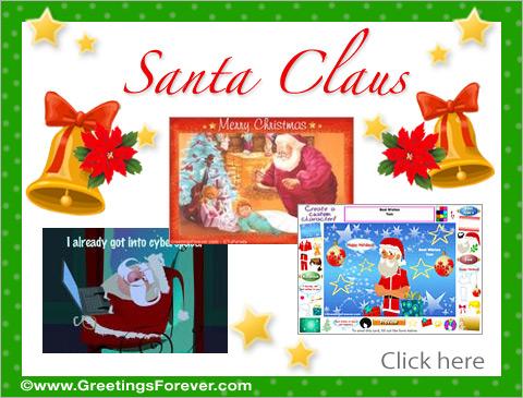 Santa Claus Ecards