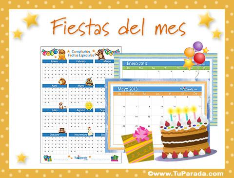 Tarjetas de Fiestas de junio