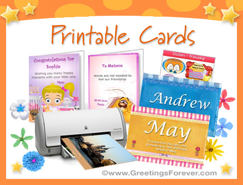 Ecards: Printable Cards