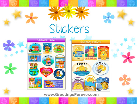 Stickers ecards