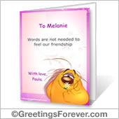 Ecards: Friendship cards