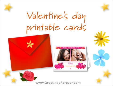 Ecards  Valentine's day printable cards