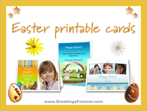 Ecards  Easter printable cards