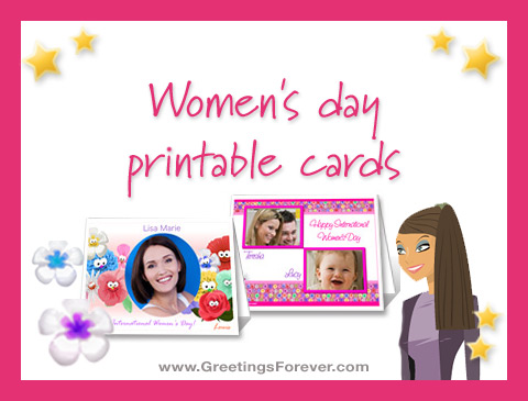 Ecards  Women's day