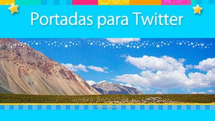 Tarjetas, postales: Imágenes para portada de Twitter
