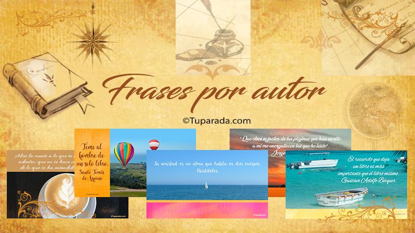 Frases de Frases por autor