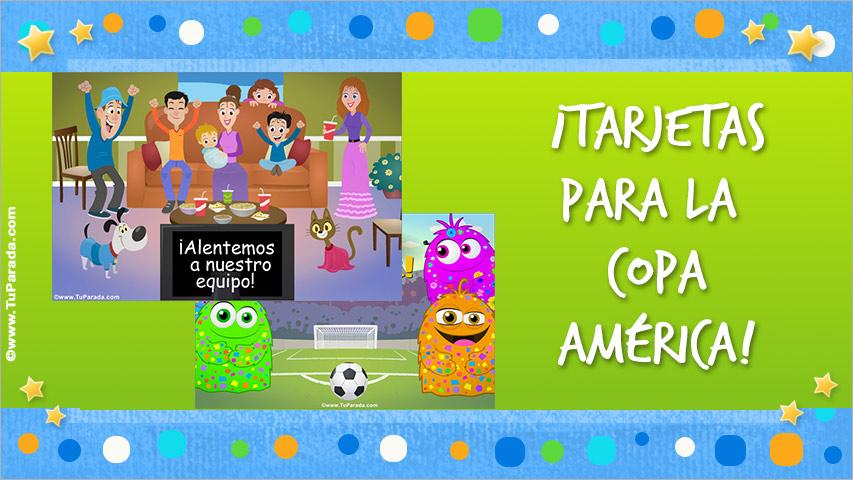 Tarjetas de Copa América