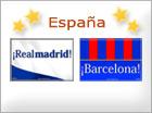 Tarjetas de Equipos españoles