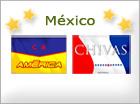 Tarjetas de  Equipos mexicanos