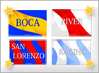Tarjetas de Equipos argentinos