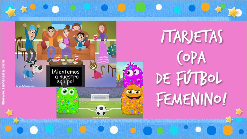 Tarjetas de Copa Femenina de Fútbol