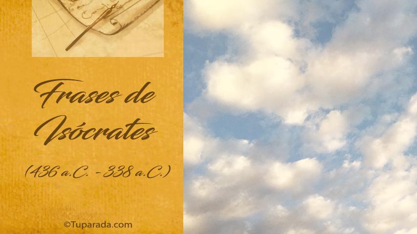 Tarjetas de  Isócrates