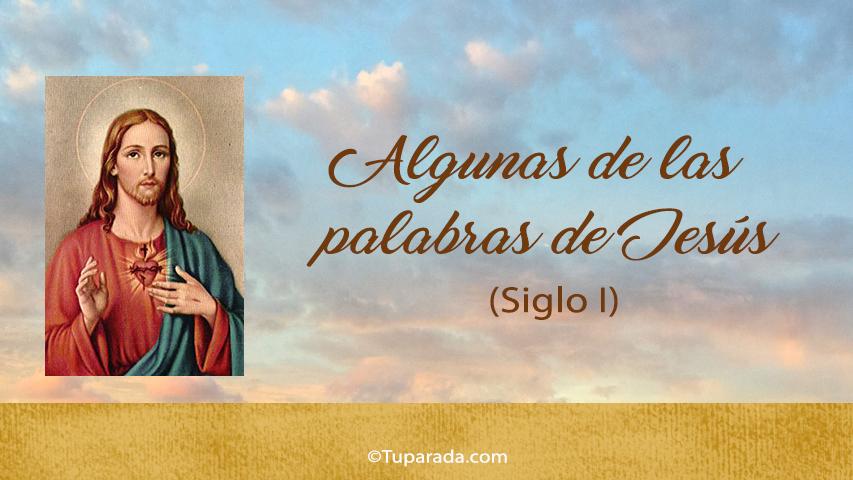 Tarjetas de  Jesús