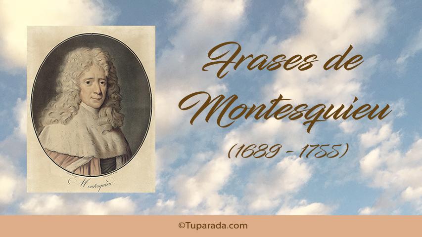 Tarjetas de  Montesquieu