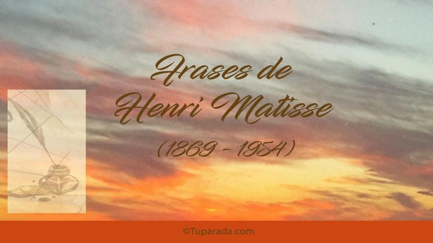 Tarjetas de  Henri Matisse