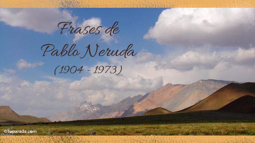 Tarjetas de  Pablo Neruda