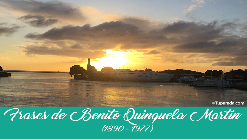 Frases de Benito Quinquela Martín