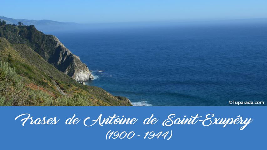 Frases de Antoine de Saint-Exupéry