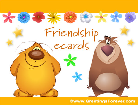 Tarjetas de  Friendship