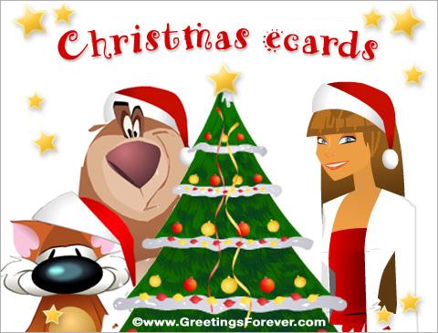 Tarjetas de Christmas