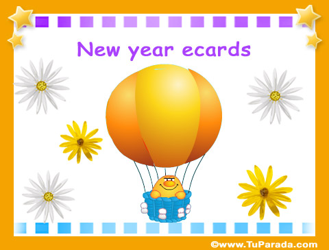 Tarjetas de New Year