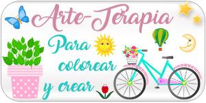 Arte terapia para colorear y crear