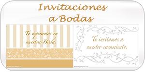 Invitaciones a Bodas