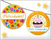 Tarjetas, postales: Manualidades de cumpleaños