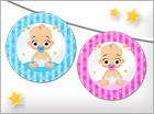 Tarjetas de Manualidades para bebés