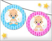 Tarjetas, postales: Manualidades para bebés