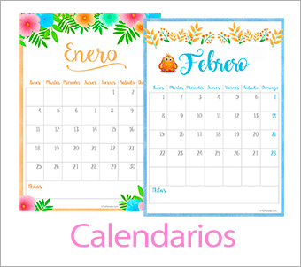 Tarjetas, postales: Calendarios